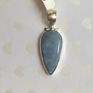 Jewelry - 925 sterling Owyhee Opel Gemstone pendant